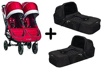Amazon Com Baby Jogger 2015 City Mini Gt Double Stroller Crimson