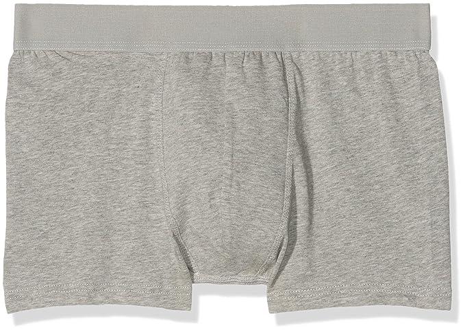 New Look Herren Retroshorts 3 Pack Connor, Grau - Grey (Mid Grey),