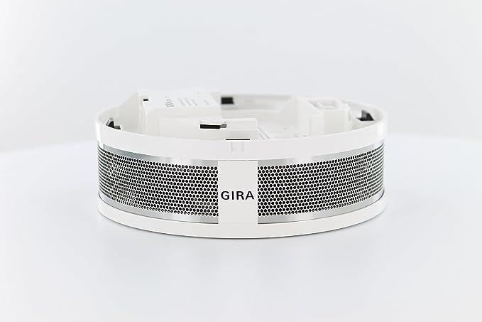 GIRA 233702 - Alarma de humo con alarma de calor, base de 230VAC y red: Amazon.es: Hogar
