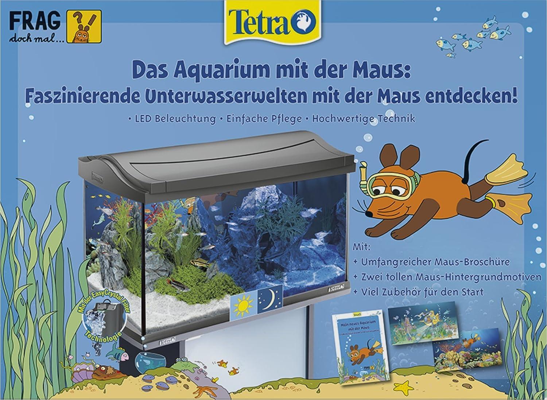 Unterschiedlich Tetra Das Aquarium mit der Maus, Komplettset 60 Liter, limitiertes  OO42