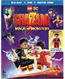 LEGO DC Shazam: Magic and Monsters (w/Figurine) (Blu-ray/DVD)