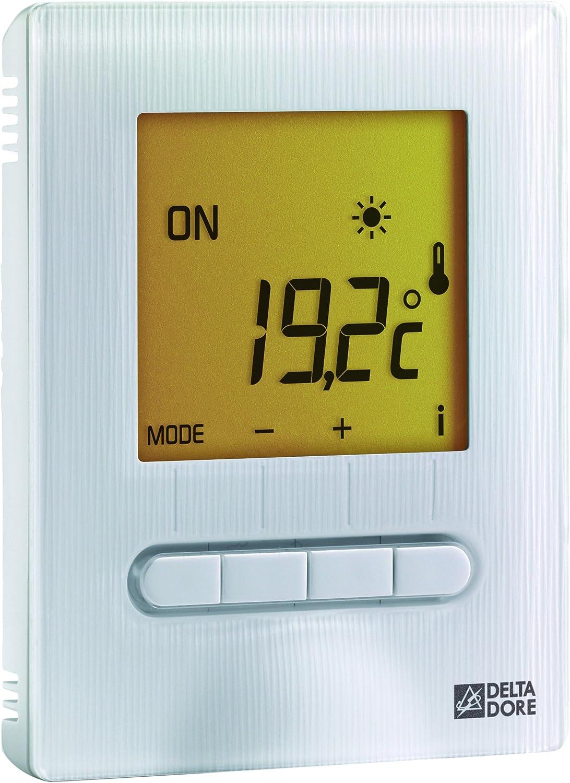 Delta Dore 6151055 Minor 12 termostato Digital para piso o techo calefactor: Amazon.es: Bricolaje y herramientas