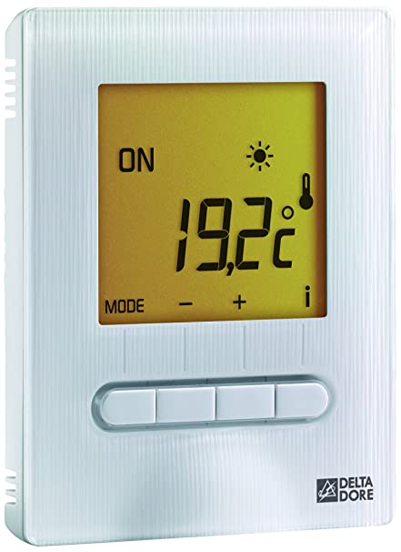 Delta Dore 6151055 Minor 12 termostato Digital para piso o techo calefactor