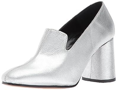16341304371 Rachel Comey Women s May Dress Pump Silver Kidskin Leather 6 ...