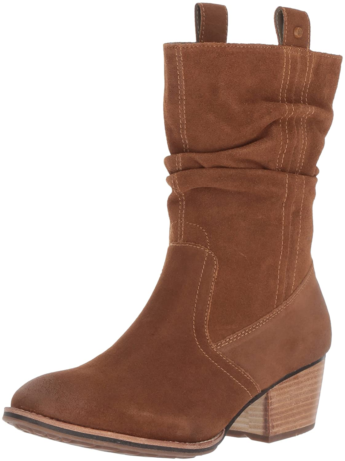 Caterpillar Women's Incense Shaft Pull Inside Zip Mid Calf Boot B01MQVS0DC 6.5 B(M) US|Brown
