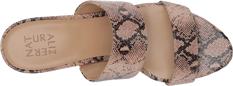 Naturalizer Tibby Sandalias de tacón para mujer Color Carne Snake