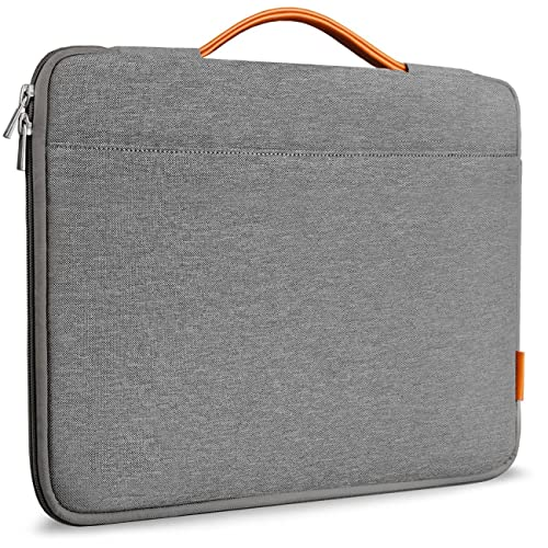 Inateck 15-15.4 Inch Laptop Sleeve, MacBook Pro / Pro Retina/ Surface Book 2 Briefcase, Laptop Bag for Ultrabook Netbook- - Dark Gray