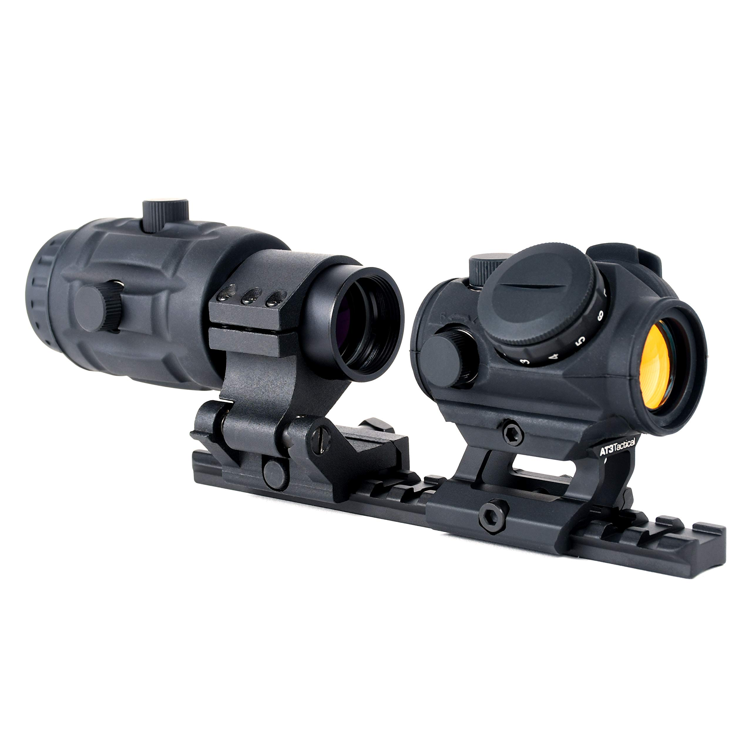 AT3 Tactical RD-50 Red Dot Sight + 3X RRDM Red Dot Magnifier Combo Kit by AT3 Tactical (Image #2)