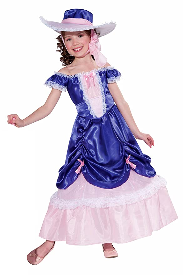 Victorian Kids Costumes & Shoes- Girls, Boys, Baby, Toddler Forum Novelties Blossom Southern Belle Childs Costume Medium $26.02 AT vintagedancer.com