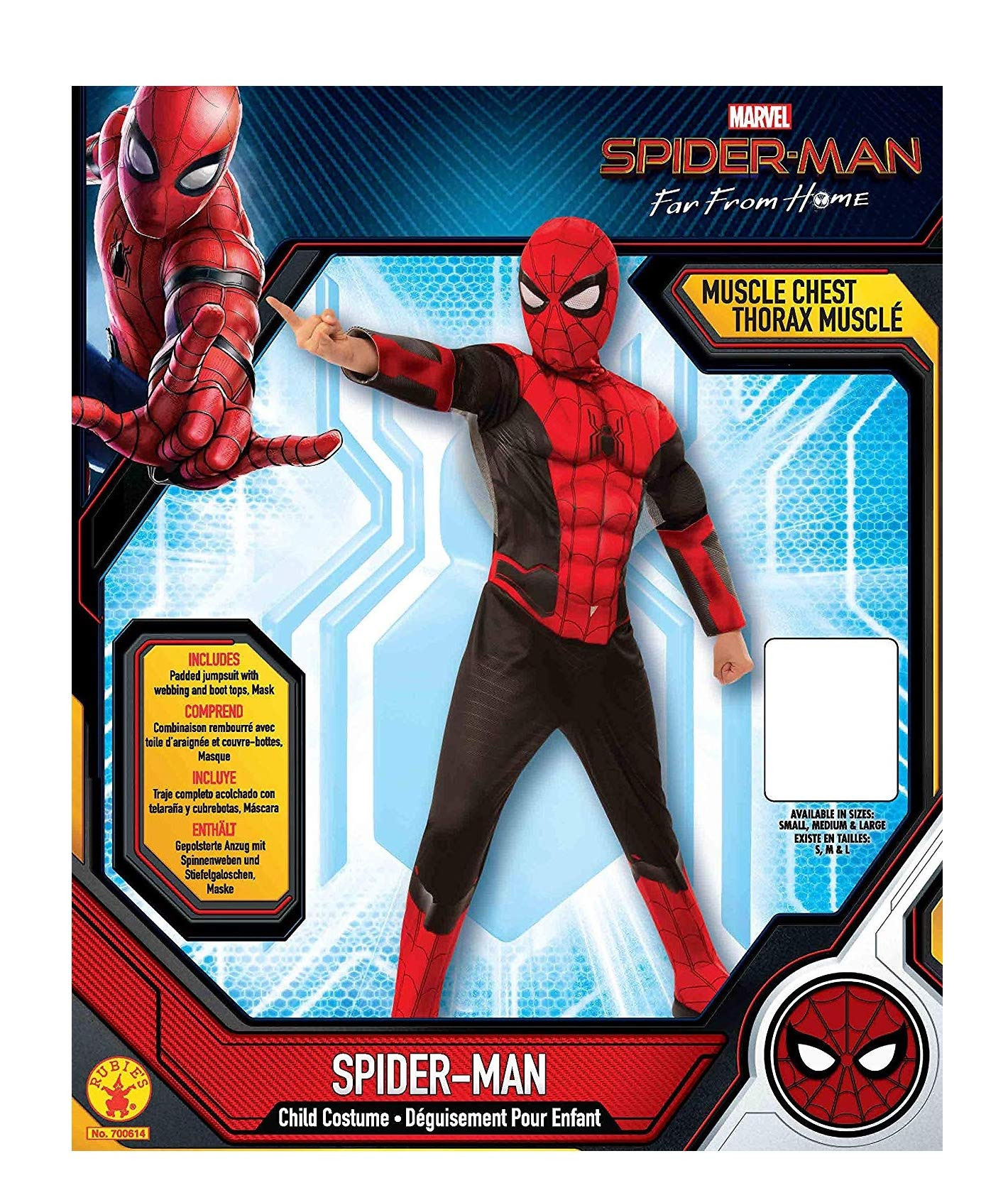 Marvel/'s spider-man-Far from Home-Stealth costume enfant costume