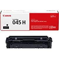 Canon 1246C001 Genuine Toner Cartridge 045 High Capacity (1-Pack, Black), Works with Color imageCLASS MF632Cdw, MF634Cdw…
