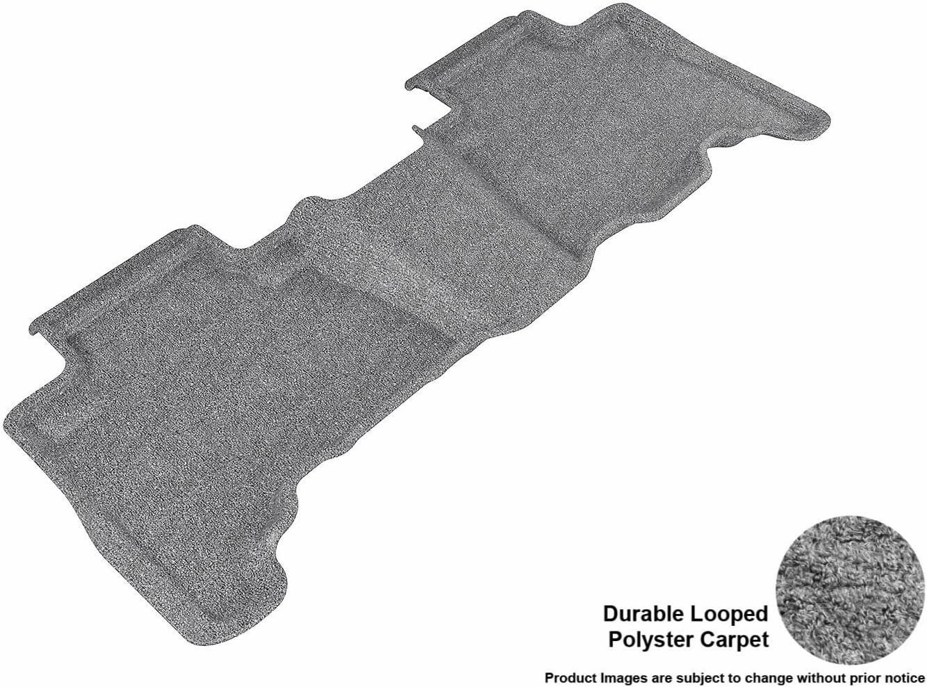 Gray Classic Carpet 3D MAXpider Second Row Custom Fit Floor Mat for Select Toyota 4Runner Models L1TY04422201