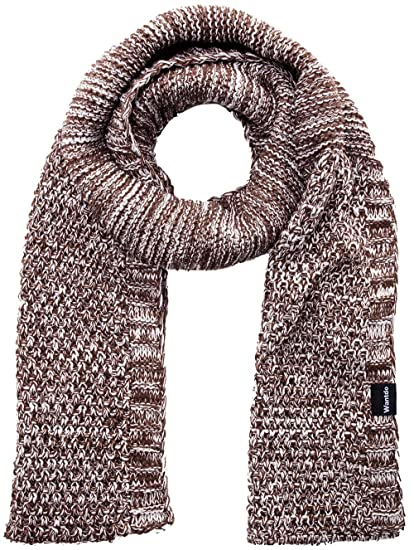 Wantdo Women S And Men S Thick Chunky Soft Knitted Scarf Coffee At
