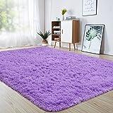 junovo Ultra Soft Area Rugs 4 x 5.3ft Fluffy Carpets for Bedroom Kids Girls Boys Baby Living Room Shaggy Floor Nursery…