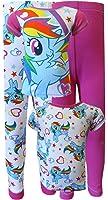 My Little Pony Rainbow Dash 4 Piece Cotton Pajama for Little Girls