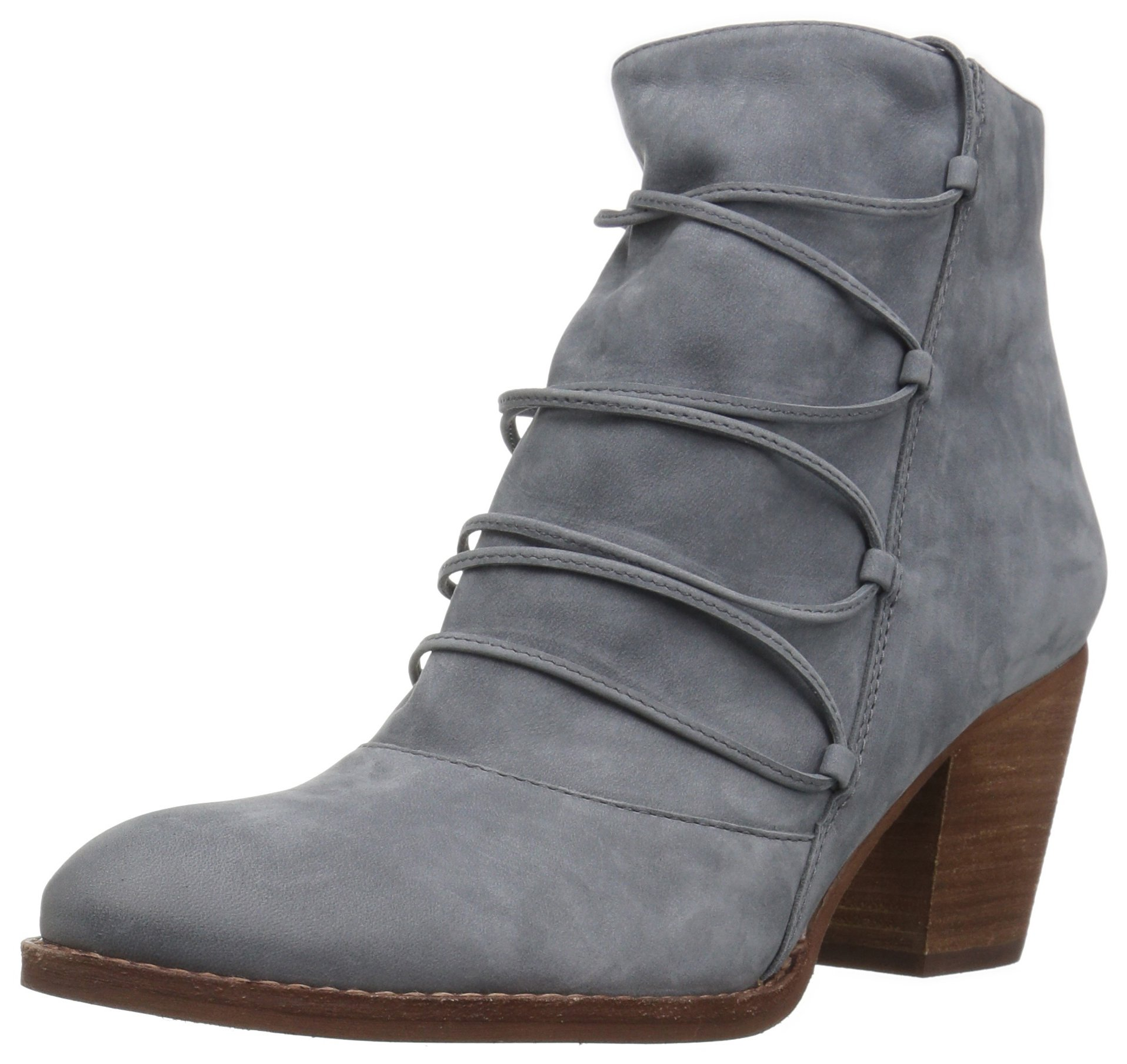 Sam Edelman Women's Millard Ankle Boot, Stone Blue Leather, 6.5 Medium US by Sam Edelman (Image #1)