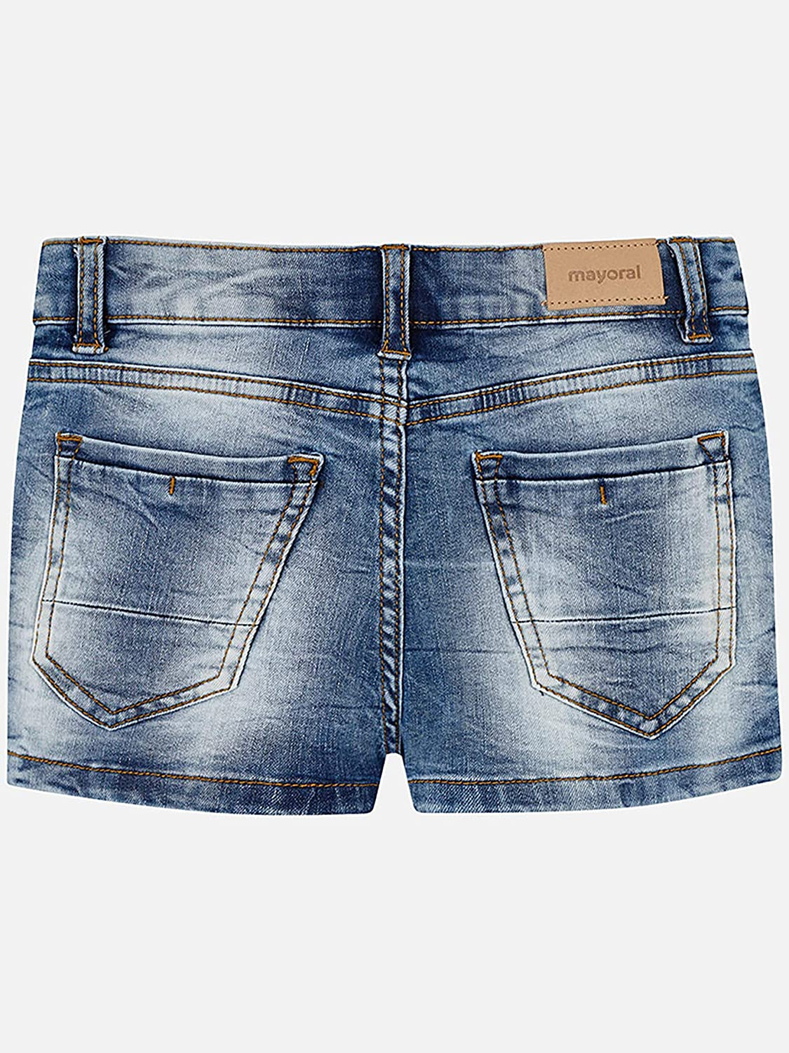 Fille 0235Clair Short Basic Mayoral Jean Pour fbg76yY