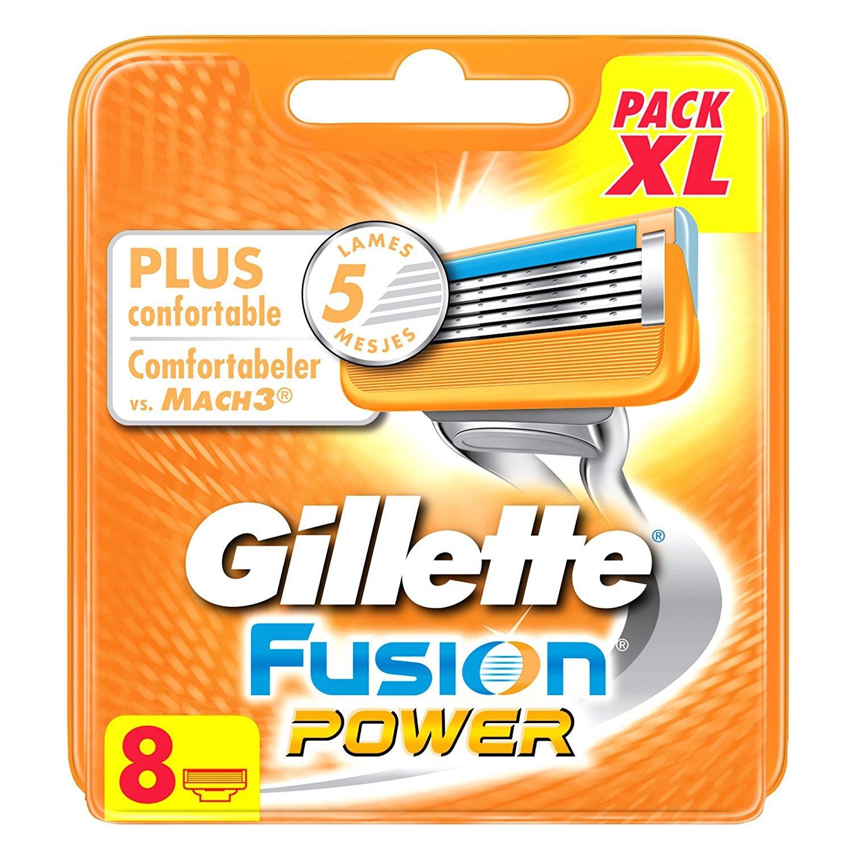 Gillette Fusion Proglide - Recambios para cuchillas de afeitar manuales (testados dermatológicamente, 8 unidades) Procter and Gamble Spain