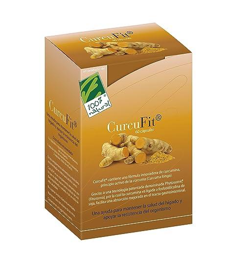 100% natural CurcuFit Antioxidantes - 60 Cápsulas