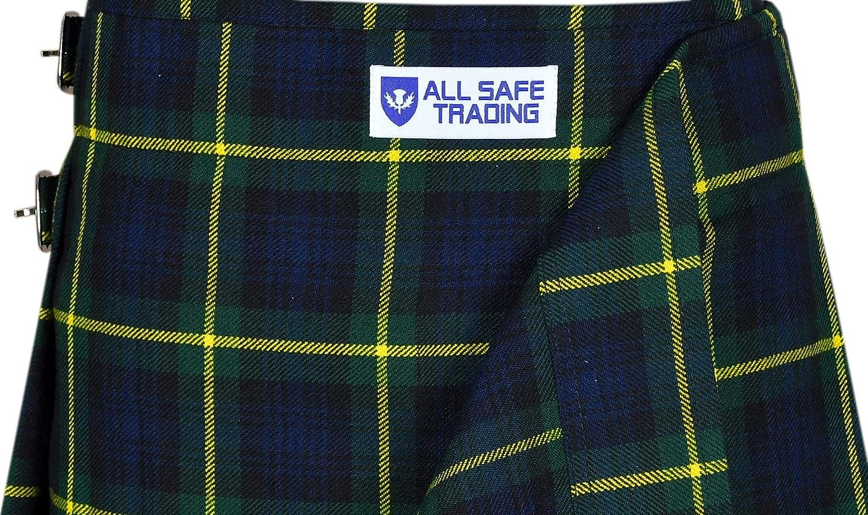 Highland Wedding Kilt Mens 5 Yard Scottish Tartan Kilt