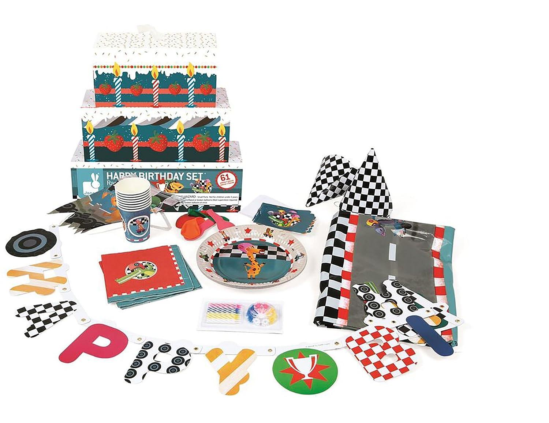Janod Racing Birthday Party Set Juratoys US Corp J02854