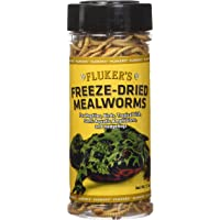 Flukers Freeze Dried Mealworms 1 7 Ounce