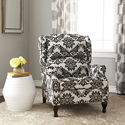 Amazon Recliner Chair Floral Pattern Upholstered Modern