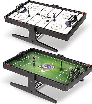 Sport Squad Flux Juego de Mesa magnético Reversible de fútbol y Hockey Multideporte, Juego de Mesa portátil, Ideal para niños y Adultos, Juego de Mesa en Miniatura con imán: Amazon.es: Deportes y