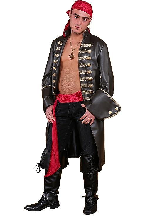 Traje de pirata frock para hombres Talla:46: Amazon.es: Bebé