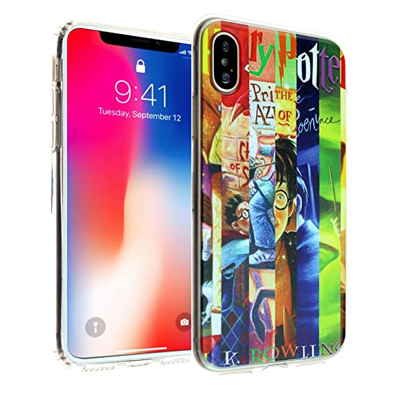 brand new 418ed 282ac Harry Potter Book iPhone Xs Max Case, DURARMOR FlexArmor Rubber Flexible  Bumper Shockproof Ultra Slim TPU Case Drop Protection Cover for iPhone Xs  Max ...