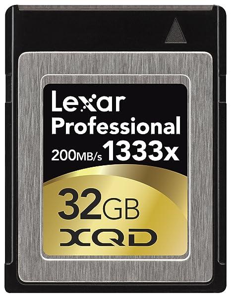 Amazon.com: Lexar tarjeta de Lexar Professional 1333 XQD ...