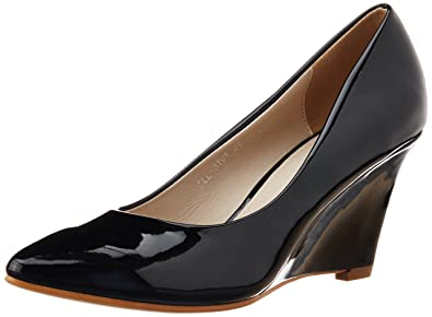 2016 Carlton London Patent Heels Black for Women Online