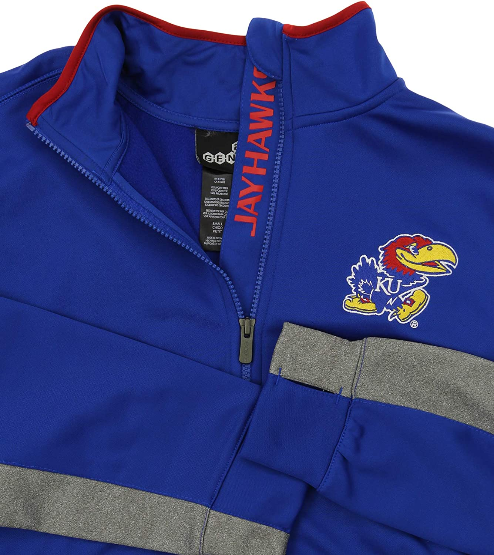 Kansas Jayhawks X-Large OuterStuff NCAA Mens First String Full Zip Jacket