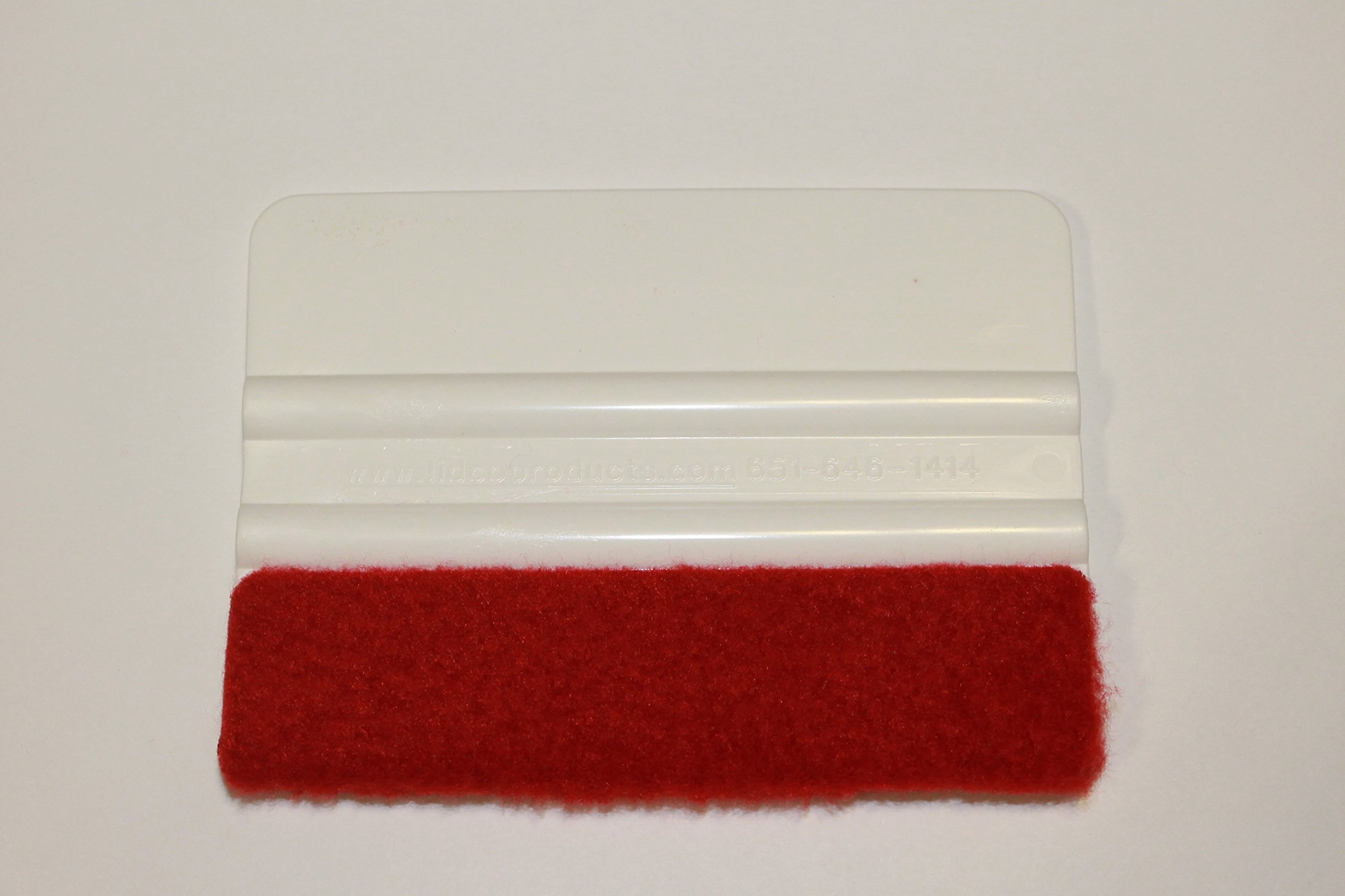 INDUSTRY STANDARD 4-INCH SQUEEGEE/ROLLEPRO WRAPIDGLIDE MICRO-FLEECE SQUEEGEE COVERS by Rollepro (Image #4)