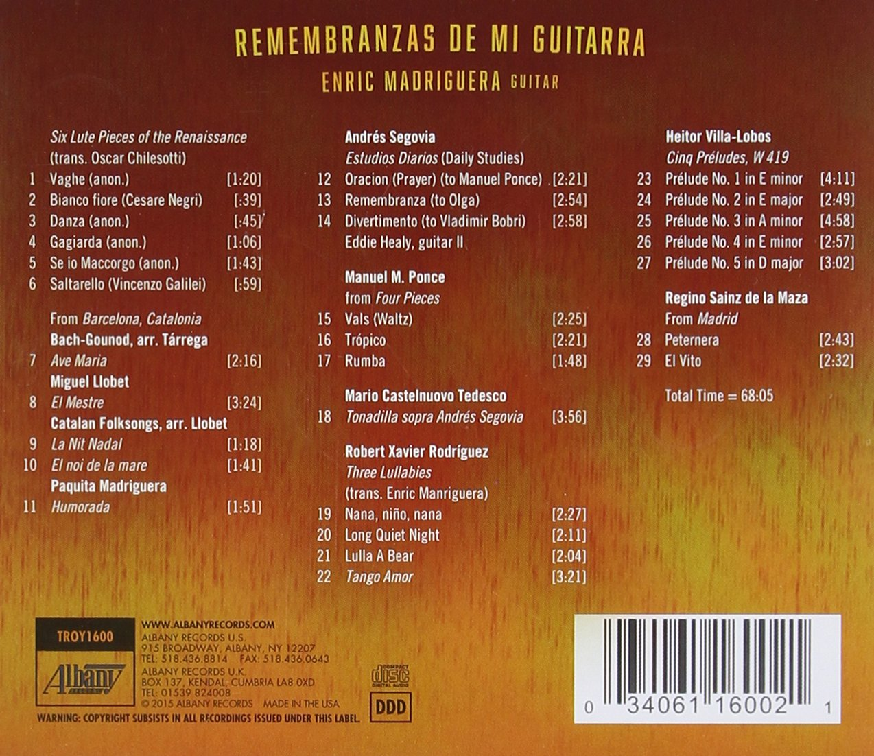 Chilesotti enric madriguera remembranzas de mi guitarra amazon com music