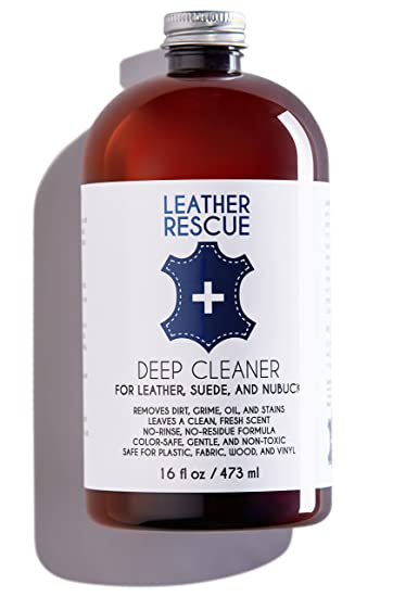 Leather Rescue Deep Cleaner For Leather, Suede, And Nubuck