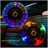 Light Up Scooter Replacement Wheels with ABEC 7