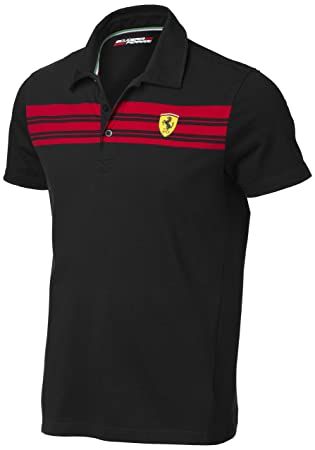 front shirts kids shirt puma view polo graphic clothing red ferrari collar