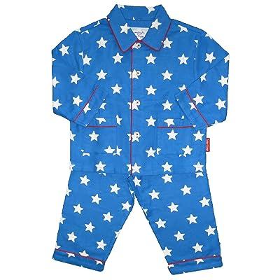 Toby Tiger Blue Star Pajamas