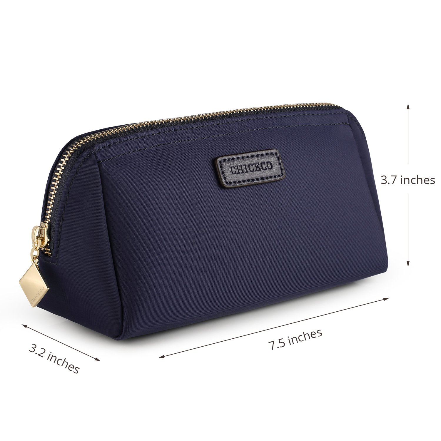 CHICECO Handy Cosmetic Pouch Clutch Makeup Bag - Navy Blue by CHICECO (Image #5)