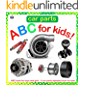 Car Parts ABC for Kids!: ABC book for boys and girls - A car parts alphabet book for kids