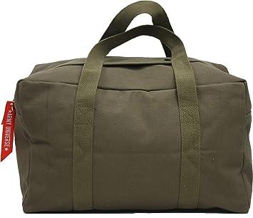 "2b7dbcf4479 Military Canvas Parachute Cargo Carry Bag - Small (19"" x 12"" ..."