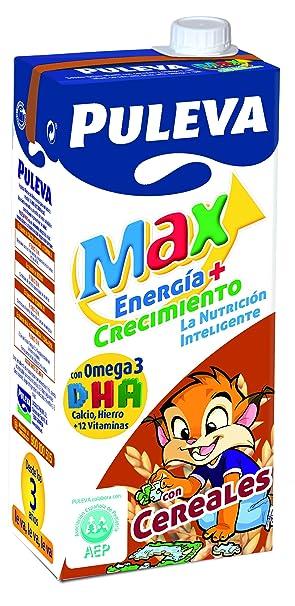 Puleva - Max Preparado Lácteo Energía Y Crecimiento Con Cereales, 1 L