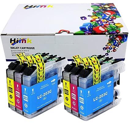 Hi de tinta 6 unidades LC203 XL lc201 color alto rendimiento ...
