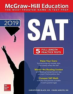 Amazon Com Mcgraw Hill Education Sat 2017 Edition Mcgraw Hill S