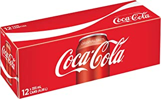 Coca-Cola Coke Classic, 335mL cans, Pack of 12