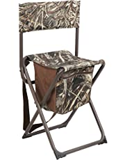 PORTAL Multifunctional Foldable Outdoor Chair Portable Fishing Stool with Storage Pocket, Camouflage