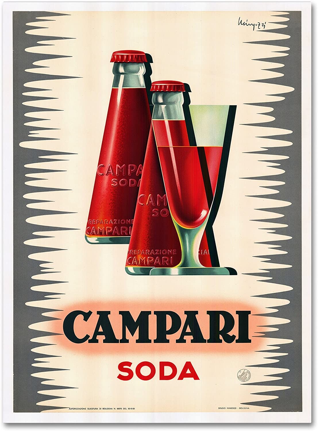 Campari by Vintage Apple Collection, 18x24-Inch