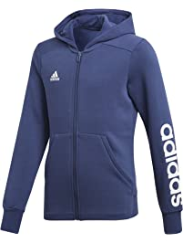adidas Girl's Essentials 3-Stripes Mid Hoodie