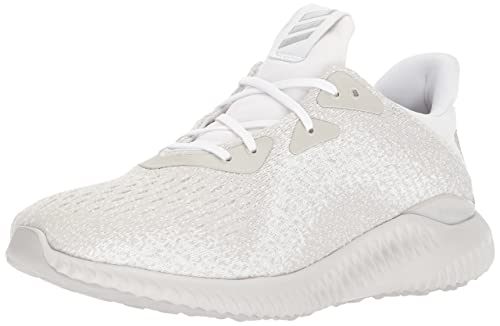 13c25d470b99f Adidas Men s Alphabounce Em Running White Silver Metallic Off White Running  Shoe 8 Men US  Amazon.co.uk  Shoes   Bags